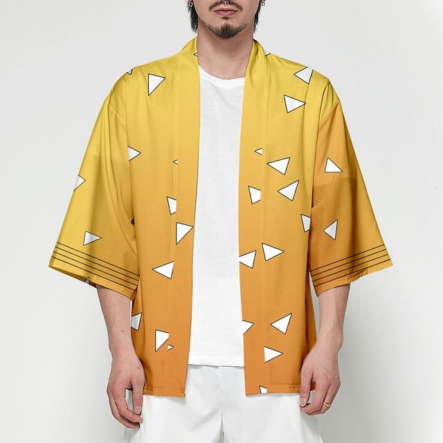 Demon Slayer Kimono Haori   Kimetsu No Yaiba